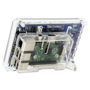 """画像3: Raspberry Pi用5""""HDMIディスプレイ  & 3ple Deckerスタンドセット"""