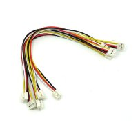 Grove - Universal 4 Pin Buckled 20cm Cable (5pcs Pack)