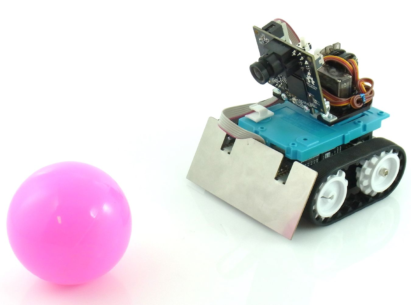 pixy on zumoキット 組立済み 画像認識追従robot physical