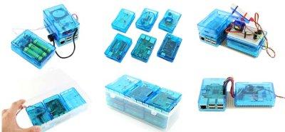 画像2: 3ple Decker Raspberry Pi ケース  クラスルーム用セット