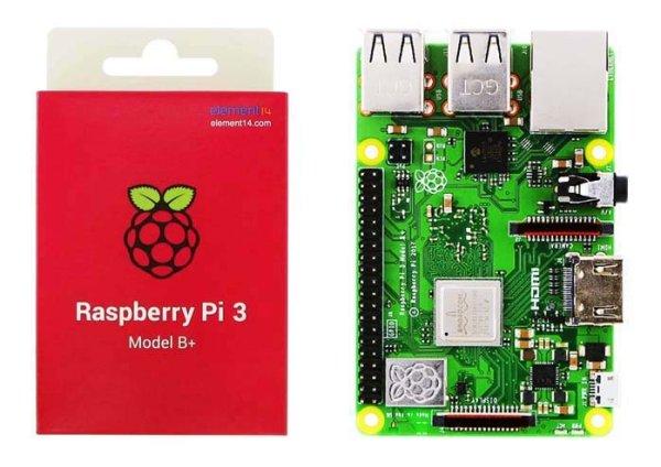 画像1: Raspberry Pi3 Model B+ (1)