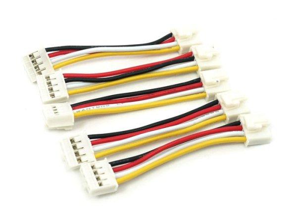 画像1: Grove - Universal 4 Pin Buckled 5cm Cable (5pcs Pack) (1)