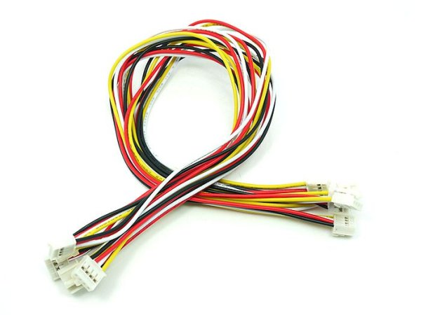 画像1: Grove - Universal 4 Pin Buckled 30cm Cable (5pcs Pack) (1)
