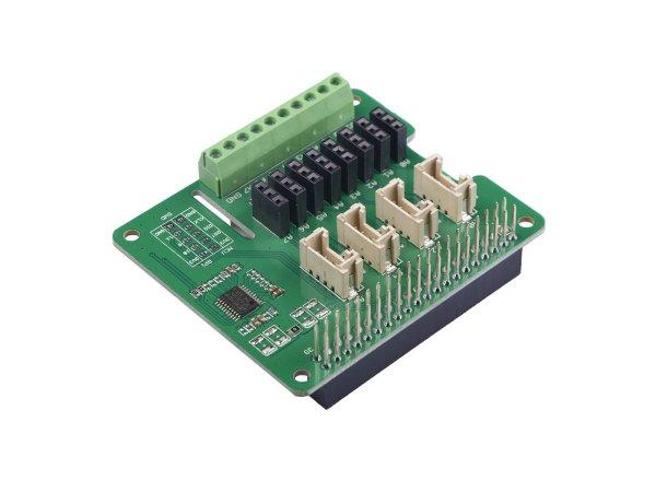画像1: 8-Channel 12-Bit ADC for Raspberry Pi (STM32F030) (1)
