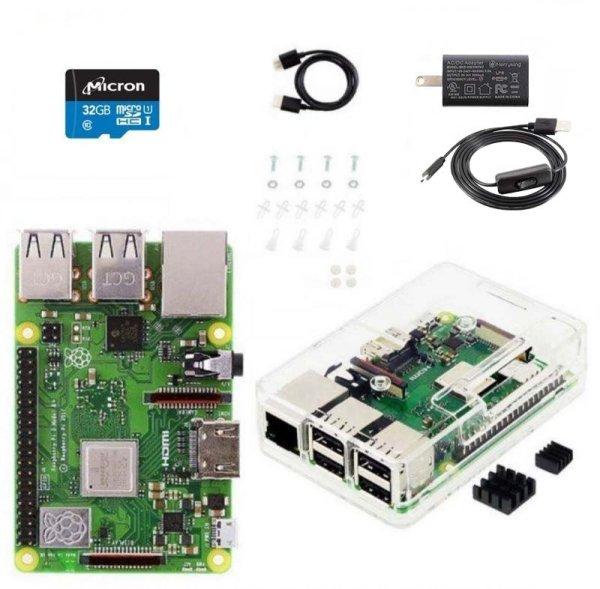 画像1: Raspberry Pi3 B+スターターキット (1)
